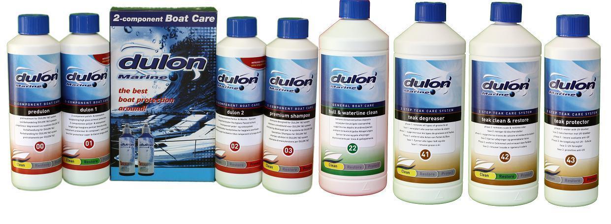 boot schoonmaken met Dulon